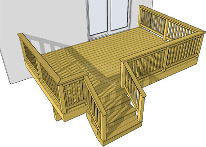 Deck Plans Free To Download Traditional Atlanta By