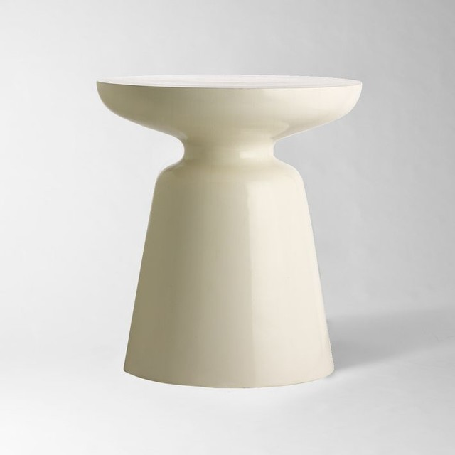 martini side table white modern side tables and end tables by