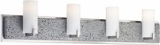 George Kovacs | Lava Tube 4 Light Bath Bar modern-bathroom-lighting-and-vanity-lighting