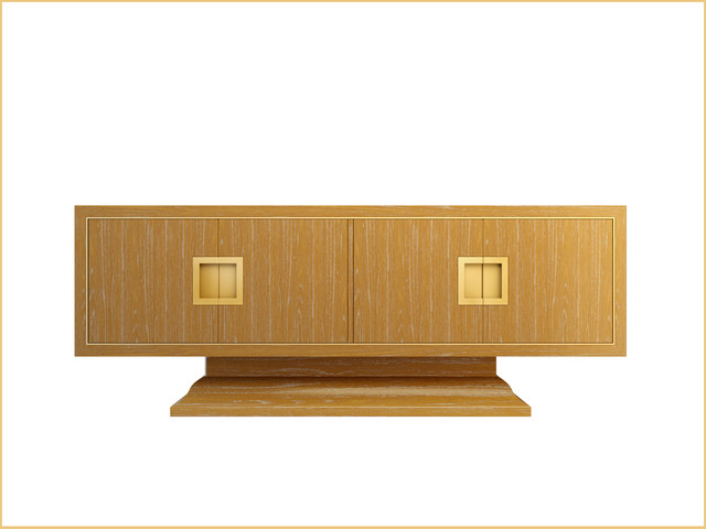 Art Deco Inspired Dining Cabinet modern-buffets-and-sideboards