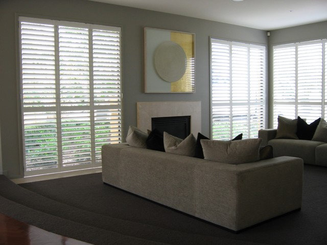 MELBOURNE PLANTATION SHUTTERS PROJECTS contemporary