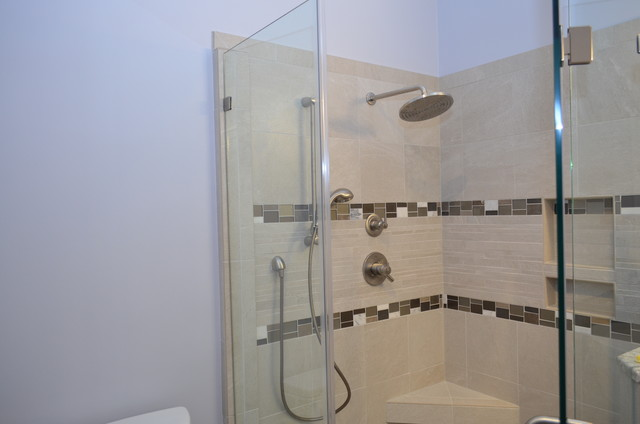 Carrington, Cary, NC ~ Master Bathroom Remodel transitional