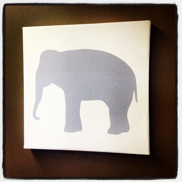Avalisa Animal Silhouettes and Custom Letters contemporary-nursery-decor
