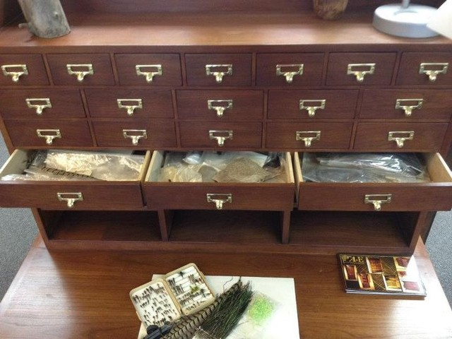 Fly Tying/Craft Desk - Traditional - Desks And Hutches - denver - by A&E Fine Woodworking