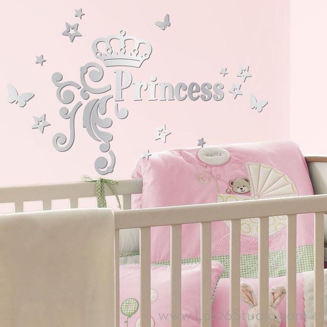 Princess Wall Decorations Cinderella Art Princess Wall Art Nursery ...
