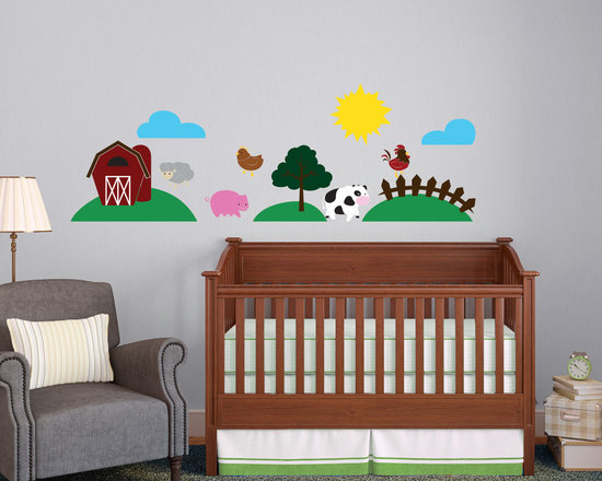 Cute Kids Farm and Farm Animals Complete Collection -