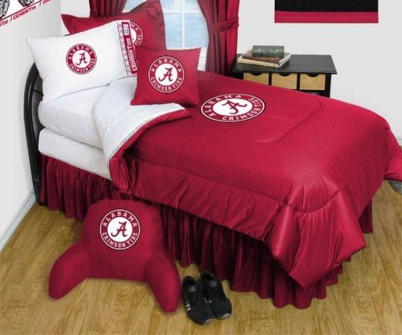 Alabama Crimson Tide NCAA Bedding - Complete Set - Queen w/ 2 Sham