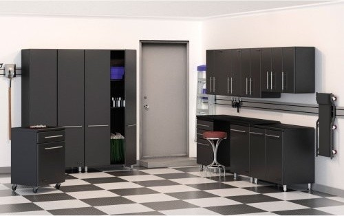 Ulti-MATE 11 pc. Garage Storage System contemporary-storage-units-and-cabinets