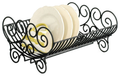 Iron Dish Rack traditional dish racks