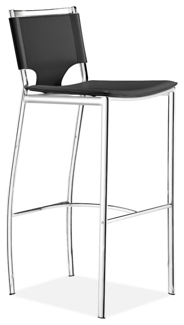 Lark Bar Chair Black (set of 2) contemporary-living-room-chairs