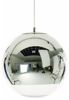 Tom Dixon  Mirror Ball Pendant modern-pendant-lighting