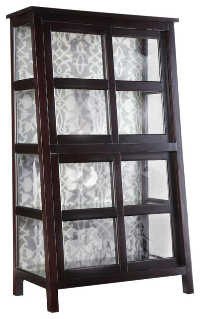 Angle Design Curio traditional-storage-units-and-cabinets