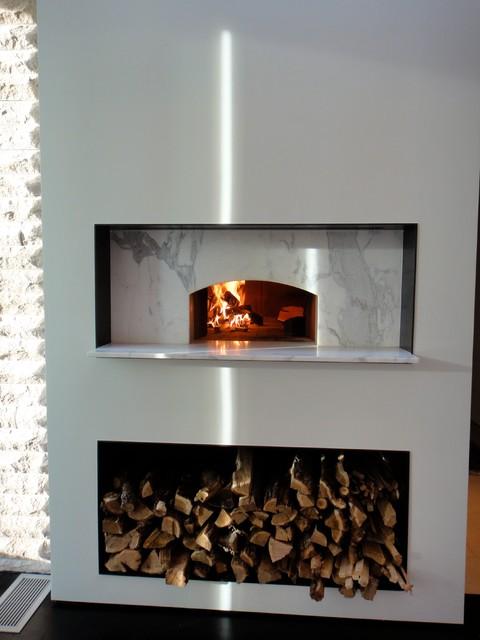 Mugnaini Indoor Wood Fired Ovens - Modern - Ovens - san francisco - by Mugnaini