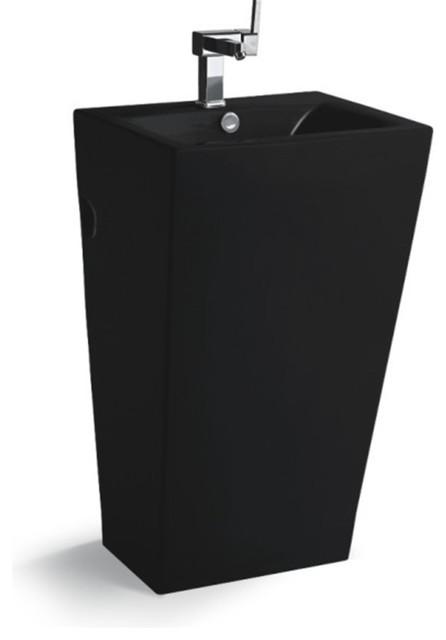 Aqua Pedestal Sinks APS003-BK modern-bathroom-vanities-and-sink-consoles