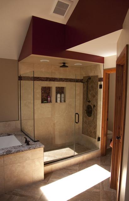 North Bend Bathroom Remodel traditional
