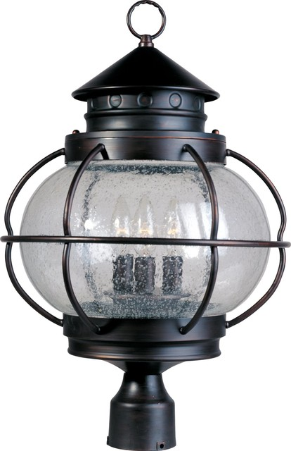 Maxim Lighting Portsmouth Traditional Outdoor Post Lantern Light X-IODC10503 traditional-lighting