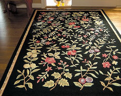 Morning Gardens Hand-Hooked Rug traditional rugs