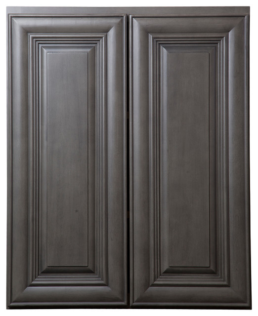 Kensington mist kitchen cabinets contemporary detroit for Cabinets to go