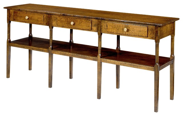 The No. 34 Console Table, Shown in Curly Maple buffets-and-sideboards