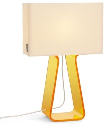 Tube Top Colors Table Lamp contemporary-table-lamps