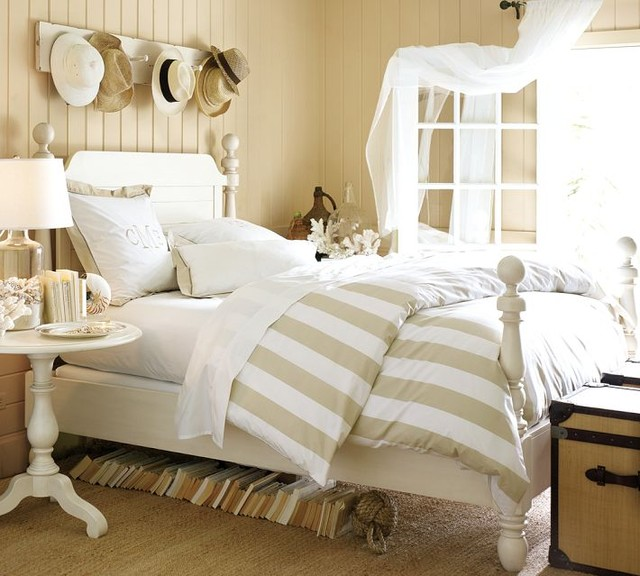 PB classic stripe bedding traditional-duvet-covers