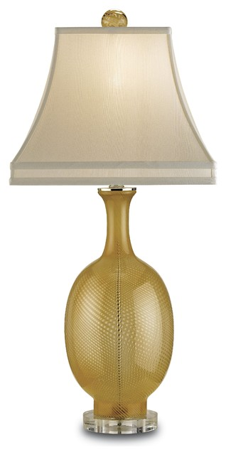 Currey and Company Artois Table Lamp in Gold traditional table lamps