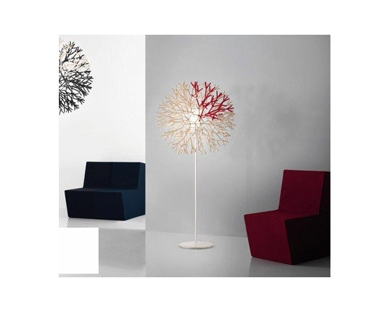 CORAL FLOOR LAMP BY PALLUCCO LIGHTING - Coral floor lamp by Pallucco is part of the new Coral series.