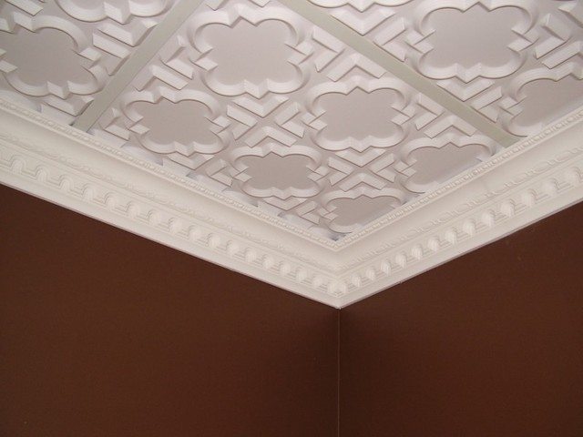 25 dct carved styrofoam crown molding 5 in wide 6 5 ft long wallpaper by decorative - Crown molding wallpaper ...