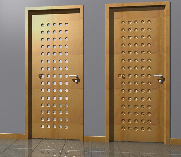Luna: Light + Air Door front-doors