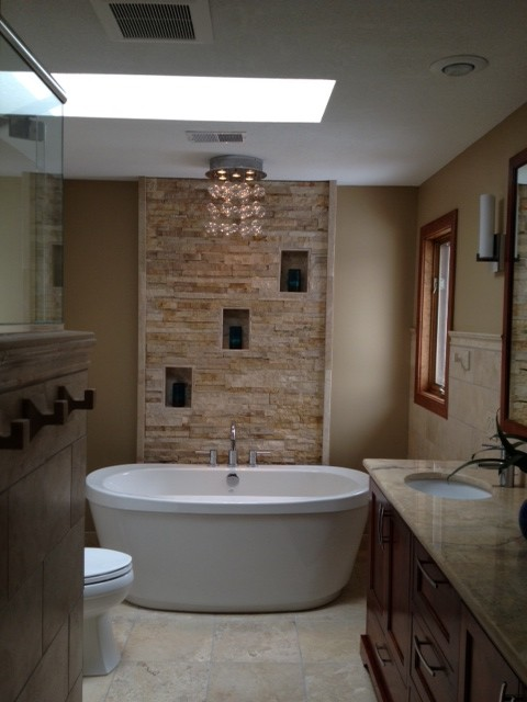 Our New Master Bath And Powder Room