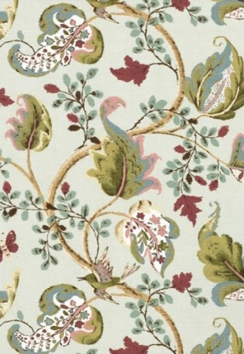 Fox Hollow Fabric, Robin's Egg traditional-upholstery-fabric