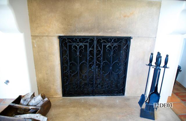 Custom Iron Fireplaces
