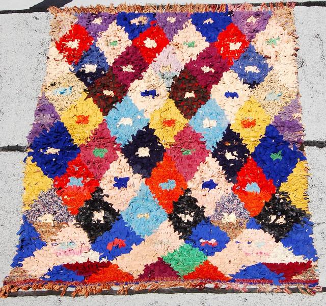 Boucherouite #25 mediterranean-rugs
