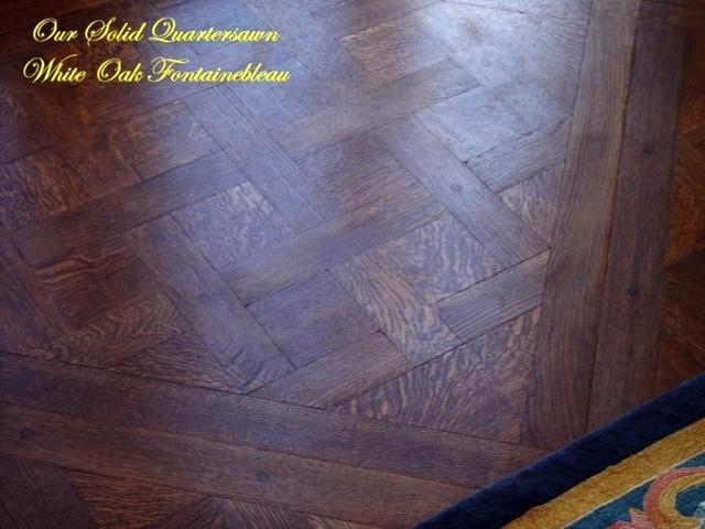 Fontainebleau Pattern traditional-hardwood-flooring