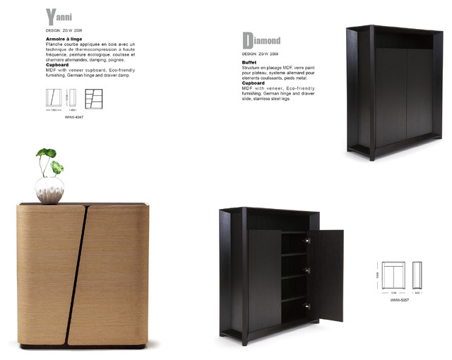 WHW-4047 YANNI modern-buffets-and-sideboards