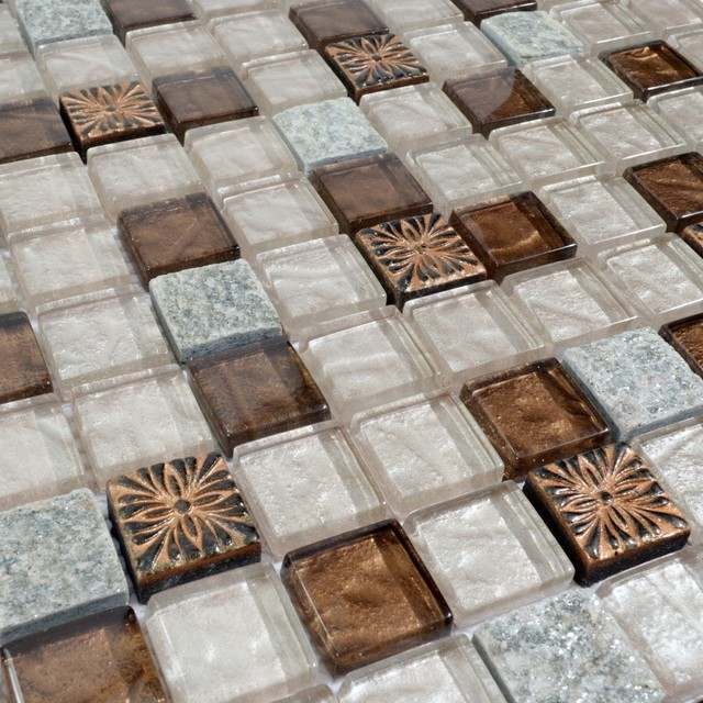 glass tile glass wall tile backsplash mosaic tile 1 square foot