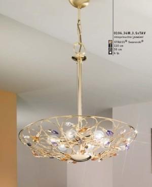 Arabesque pendant lamp large modern-pendant-lighting