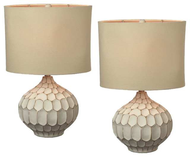 Amazing These Classy White Pair Of Table Lamps Are $179 For The Pairu2026better, But  Still Way Too Expensive.