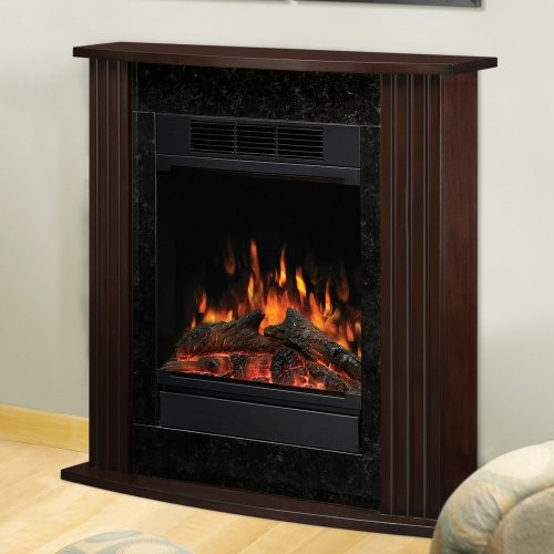 Dimplex Derby Petite Electric Fireplace Espresso Contemporary Indoor Fireplaces By Hayneedle