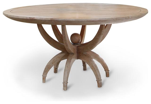 Limed Oak Dining Room Set