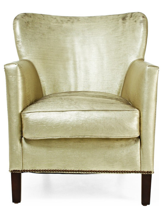Irving Place McQueen Metallic Chair -