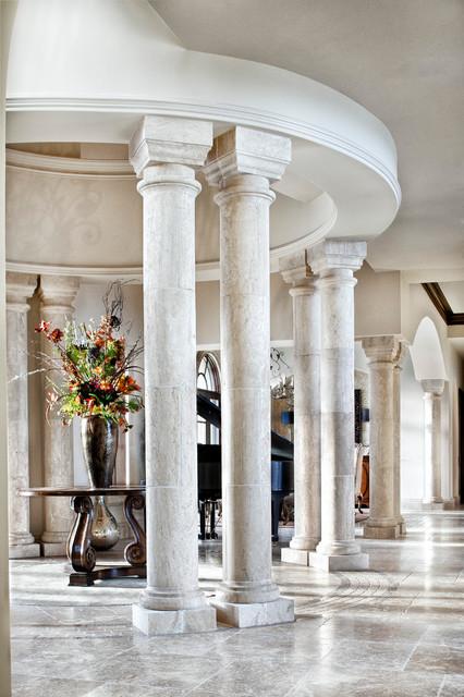 Interiors mediterranean-entry