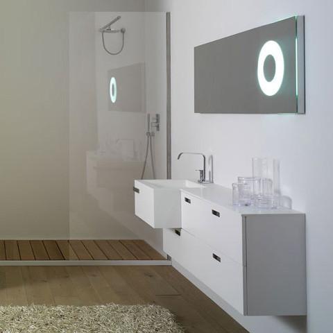 Model Backlit Bathroom Mirror For Your Modern Bathroom Design The Mirror