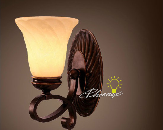 Bell Single wall sconce - Size:L23cm X W18cm X H30cm