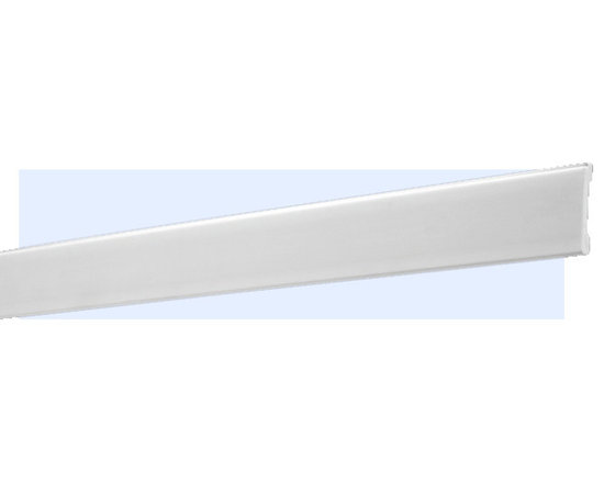 "Inviting Home - Houston Baseboard Molding / Casing - baseboard molding 3-15/16""H x 5/8""P x 8'00""L baseboard sold in 8 foot length (4 piece minimum required) Shock resistant baseboard is 20% stronger than pine wood. The baseboard is made of High Definition Polymer System (HDPS) and is humidity resistant. The molding has maximum long term protection against scratches and dents and is ideal for high traffic areas and commercial applications such as clubhouses lobbies and exercise rooms. This molding is hypoallergenic fully recyclable and ready-painted with white paint. This baseboard has a tough extremely smooth surface and the back of the molding is fluted for better adhesion and a built-in cable and wire channel (non-electrical). This baseboard has sharp deep highly defined details and matching flexible molding is available. Metal dies are used during production for consistent quality and perfect part to part match for hassle free installation."