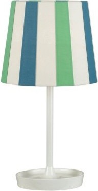 Kenroy Home Raya Accent Lamp - Blue modern-table-lamps