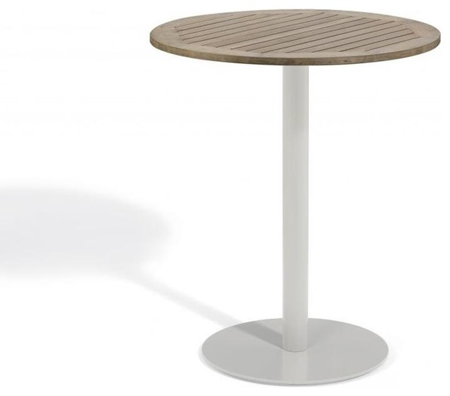 Travira 36 Bar Table, Tekwood Vintage contemporary-outdoor-tables
