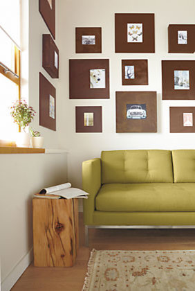 Patina Box Frames by R&B modern-living-room