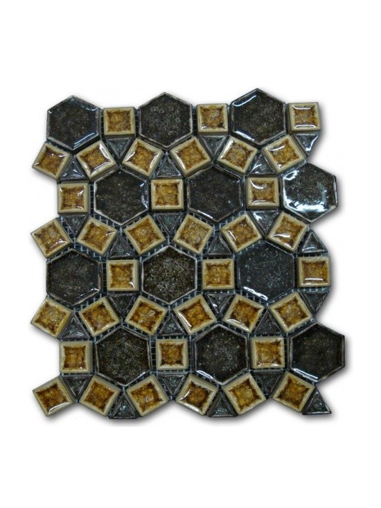 Bergammo glass Bella series nunzia Elia - View this amazing high end glass tile collection on our online store