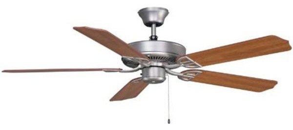 Fanimation BP200SN-220 52 Inches Ceiling Fan Aire Décor Collection traditional-ceiling-fans